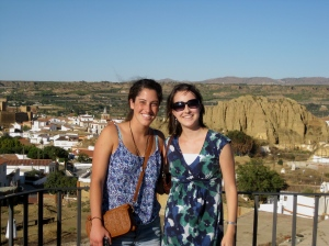 In the village of Guadix in Andalucia