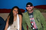Corey Smith & I before the interview