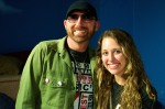 Taylor Wolfe, EEB Chair, with Corey Smith