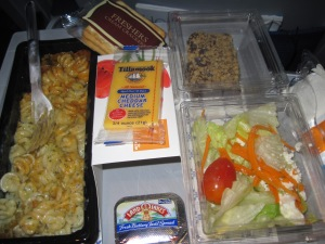 my dinner on the flight to Amsterdam. it was so good!