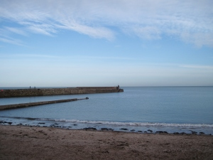 the old pier: we walked all the way to the end and as I admired the view and the fresh air, I thought about all of the footsteps that I was walking in. what history!