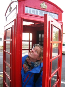 This was the first red phone booth I saw while in the UK. I was quite excited to see one in real life!