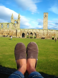 I wear my Toms everywhere, and I know that countless Erskine-ites do as well.  Here is proof that they have walked through ancient ruins.