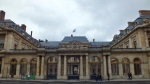 The Conseil d'Etat (Counsel of State)--a very impressive government building.