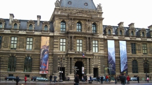 We spent a lot of time walking around outside the Louvre. I was astounded by the size of it all!  I only wish that we had had time to go inside.