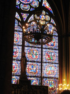 The Chapel of Our Lady in Notre Dame. Can you tell that I really love Mary? All of the stained glass was gorgeous and so detailed.