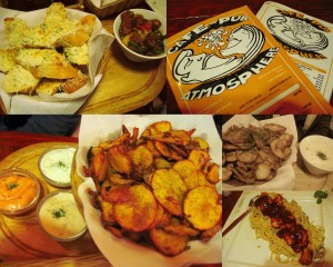 A few of the dishes we ate: add 3 more orders of fried potatoes and then you've got an idea.