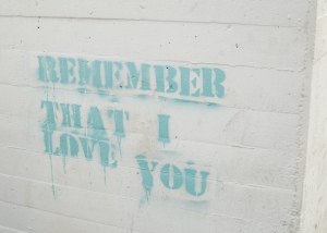 This was spray-painted on an archway we went through. It seemed like a well-timed reminder from God just when I was feeling a bit insignificant in this big world of ours. He truly works in mysterious and wonderful ways!