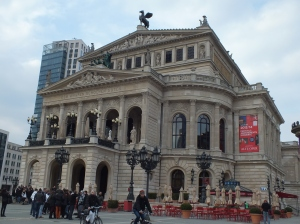 the Frankfurt Opera Hosue