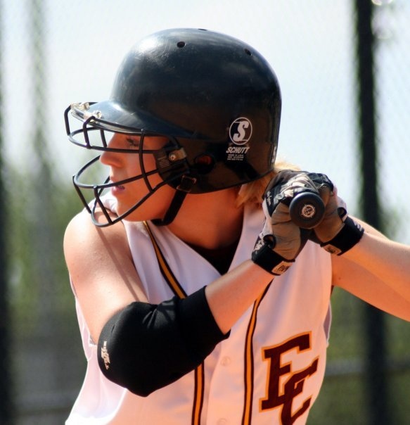 Kristy was a softball player at Erskine :)