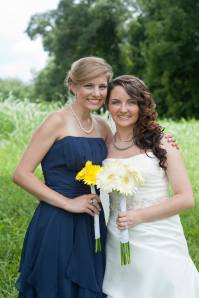 Friends since freshman year, and now this lovely lady is married! Guess she has a new roommate now, haha.