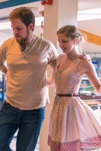 This photo of Tyler and me (courtesy of the wonderfully talented Henry of ©Henry Legg Photography) was taken at the tea dance in late April.
