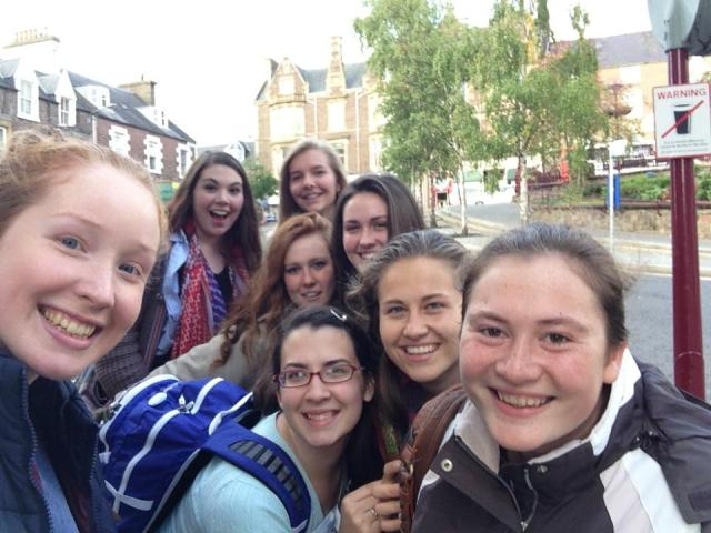The 8 girls who went to Crief: 4 mums and their 4 academic daughters!