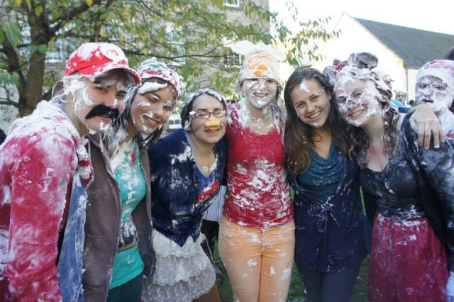 Family photo AFTER the foam fight! :)