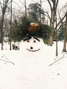 what a stylish snowman! photo from Autumn Horne '17