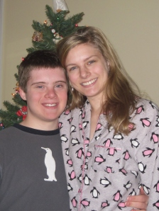 Luke and I matched PJs..we're so cute.