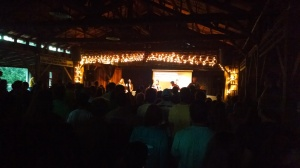 Saturday's evening session as we stood united in worship.