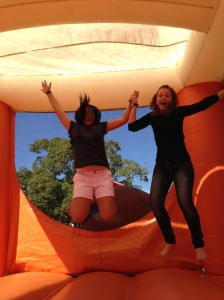 We love bouncy castles!