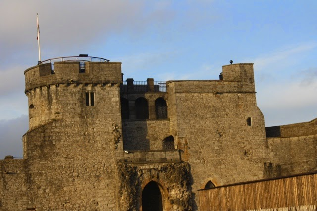 The castle in Limerick, Ireland, as seen by Erskine students traveling for J-term