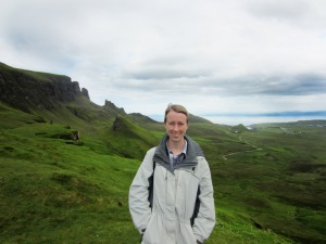Dr. Schott visited the Isle of Skye this summer as part of her ongoing research into medieval manuscripts and texts.