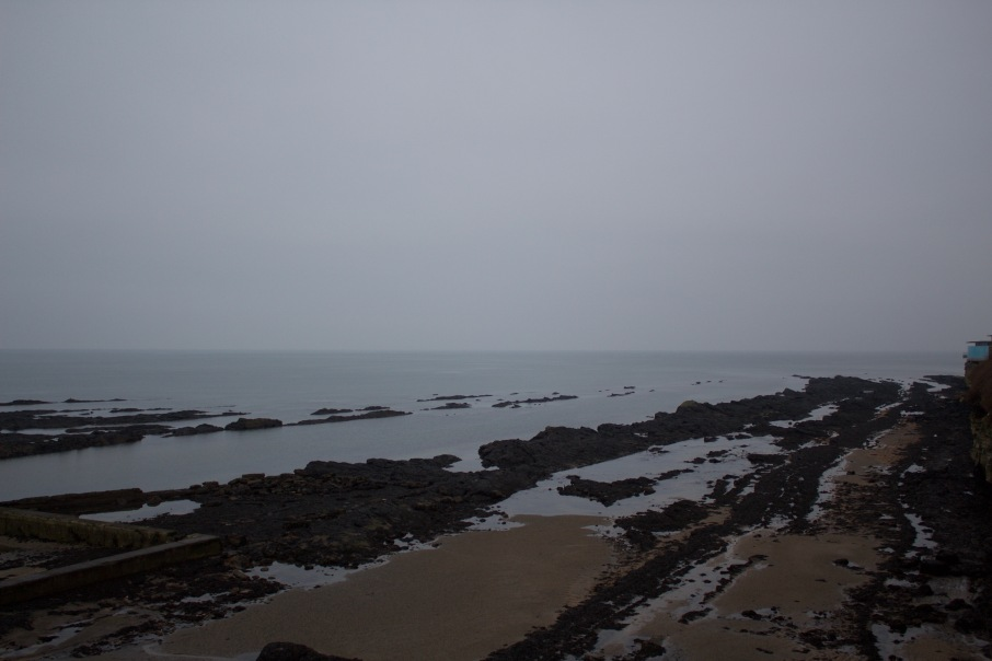 A view of Castle Sands